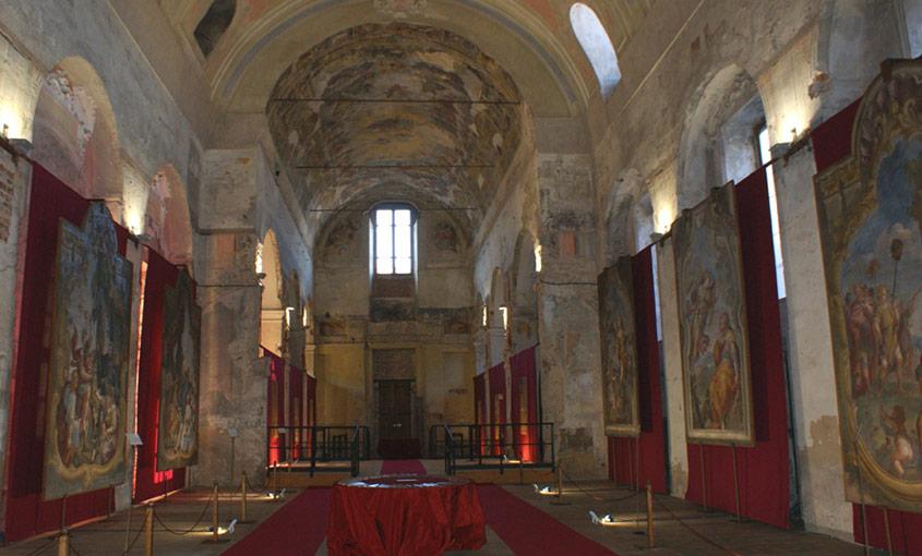'Asti ritrovata', affreschi barocchi nell'ex chiesa del Gesù