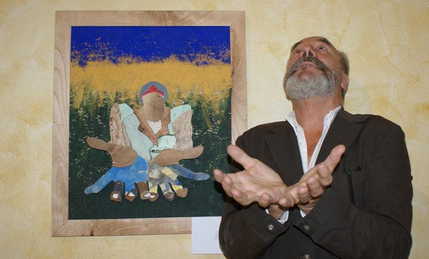 'L'uomo che voleva volare', mostra di Bobo Pernettaz