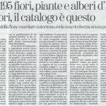 Flora - La Stampa 22.04.2018