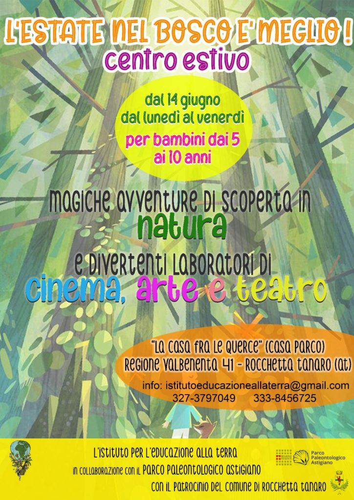 Centro estivo al Parco di Rocchetta Tanaro
